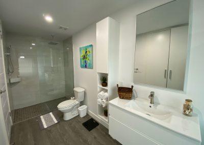 One West Suites Bathroom