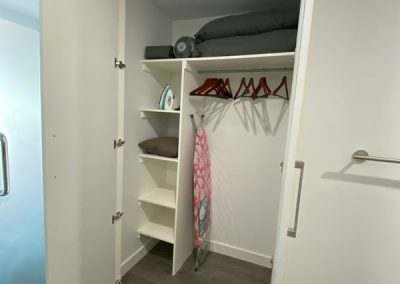 One West Suites storage