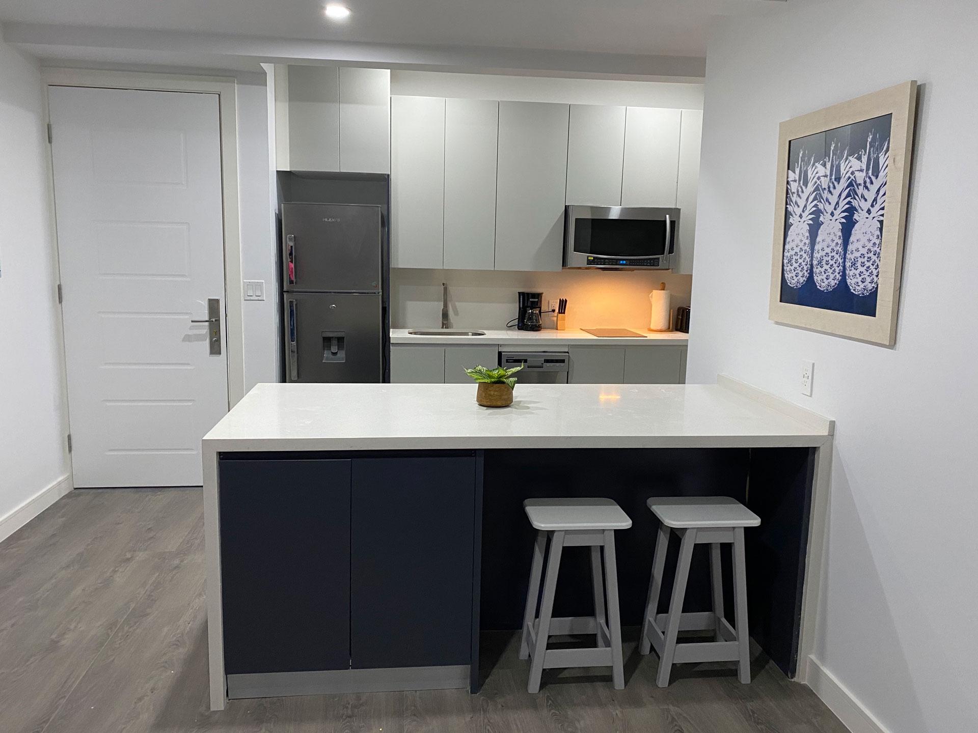 One West Suites Kitchen